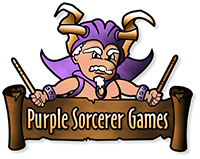 Purple Sorcerer Games Logo